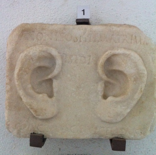 Relief with ears