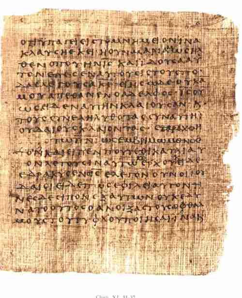 roman papyrus
