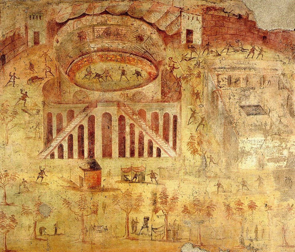Pompeii_-_Battle_at_the_Amphitheatre_-_MAN