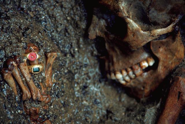 Skeleton Found in Herculaneum