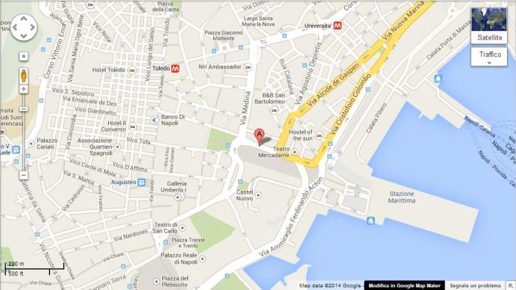 Piazza Municipio map