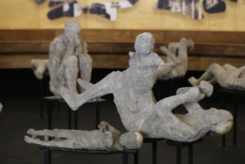 Exhibition in Pompeii