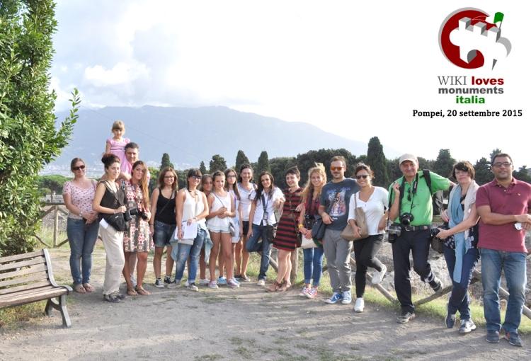 September 2015, Wiki loves monuments in Pompeii
